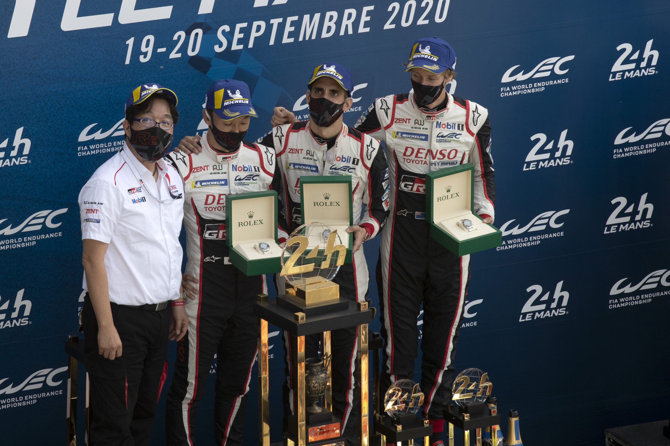 24 hours of Le Mans 2020 toyota gazoo racing winning drivers