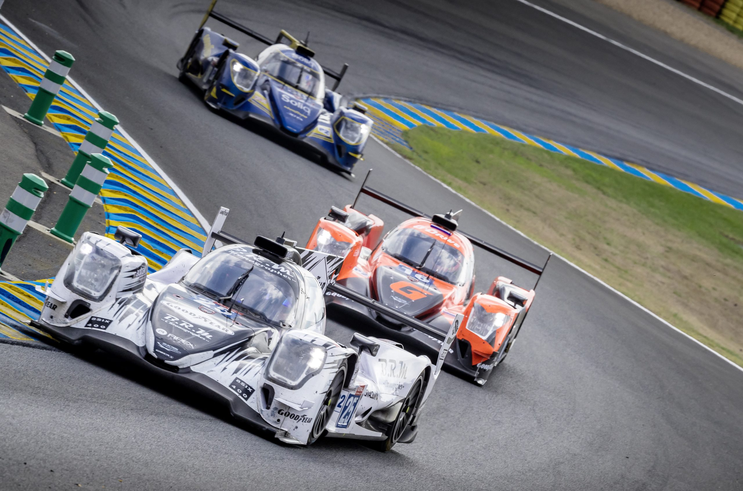 24 hours of Le Mans 2020 dynamic race action