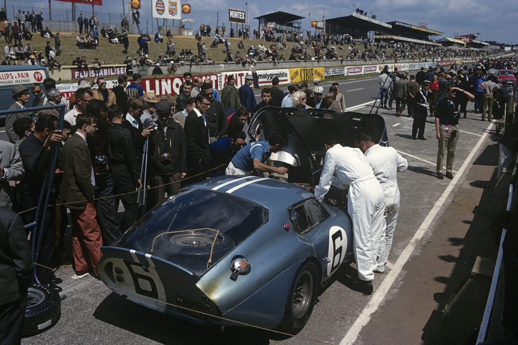 Chris Amon 24 Hours Of Le Mans shelby cobra daytona coupe