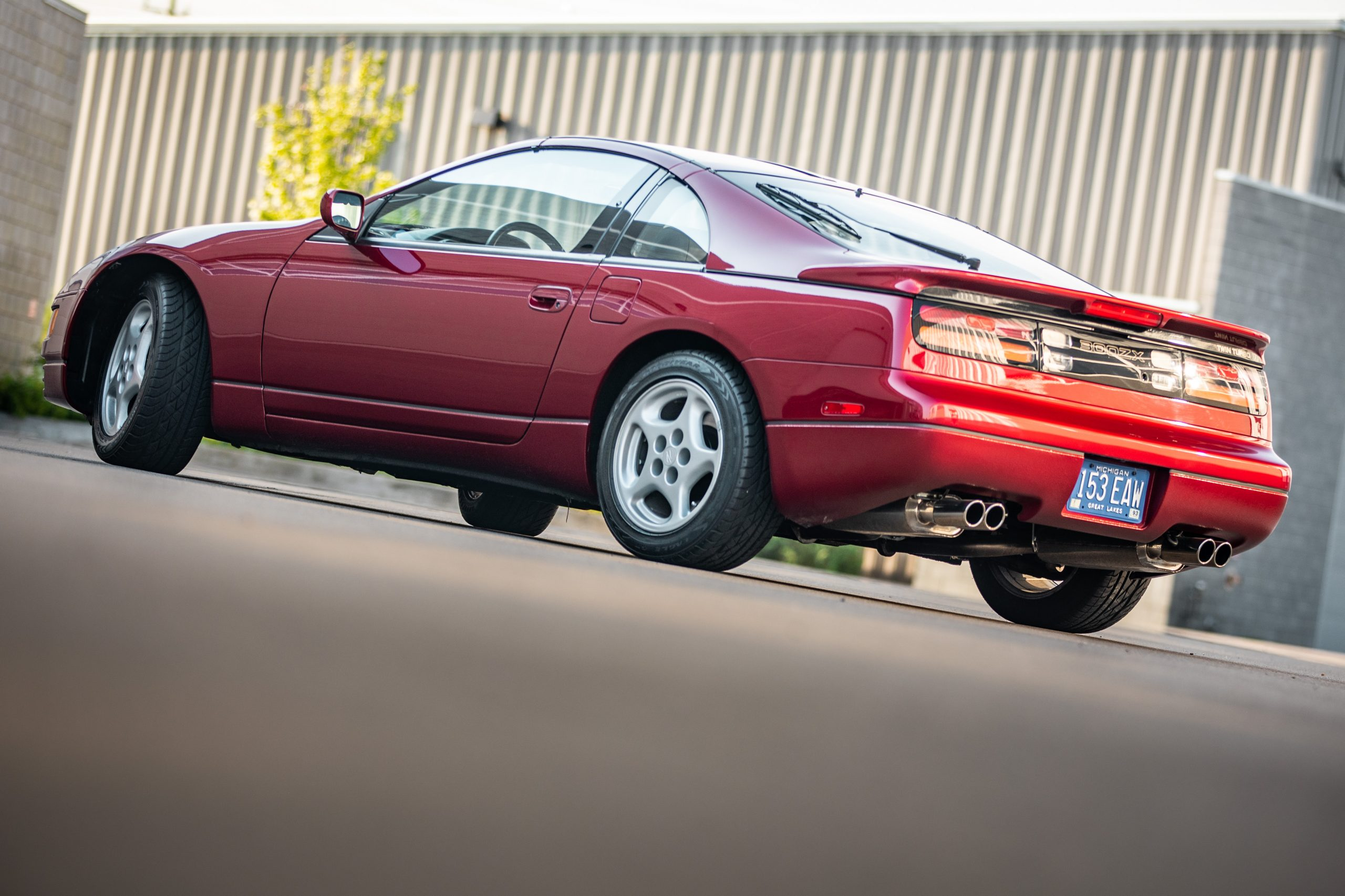 Nissan 300ZX rear three-quarter