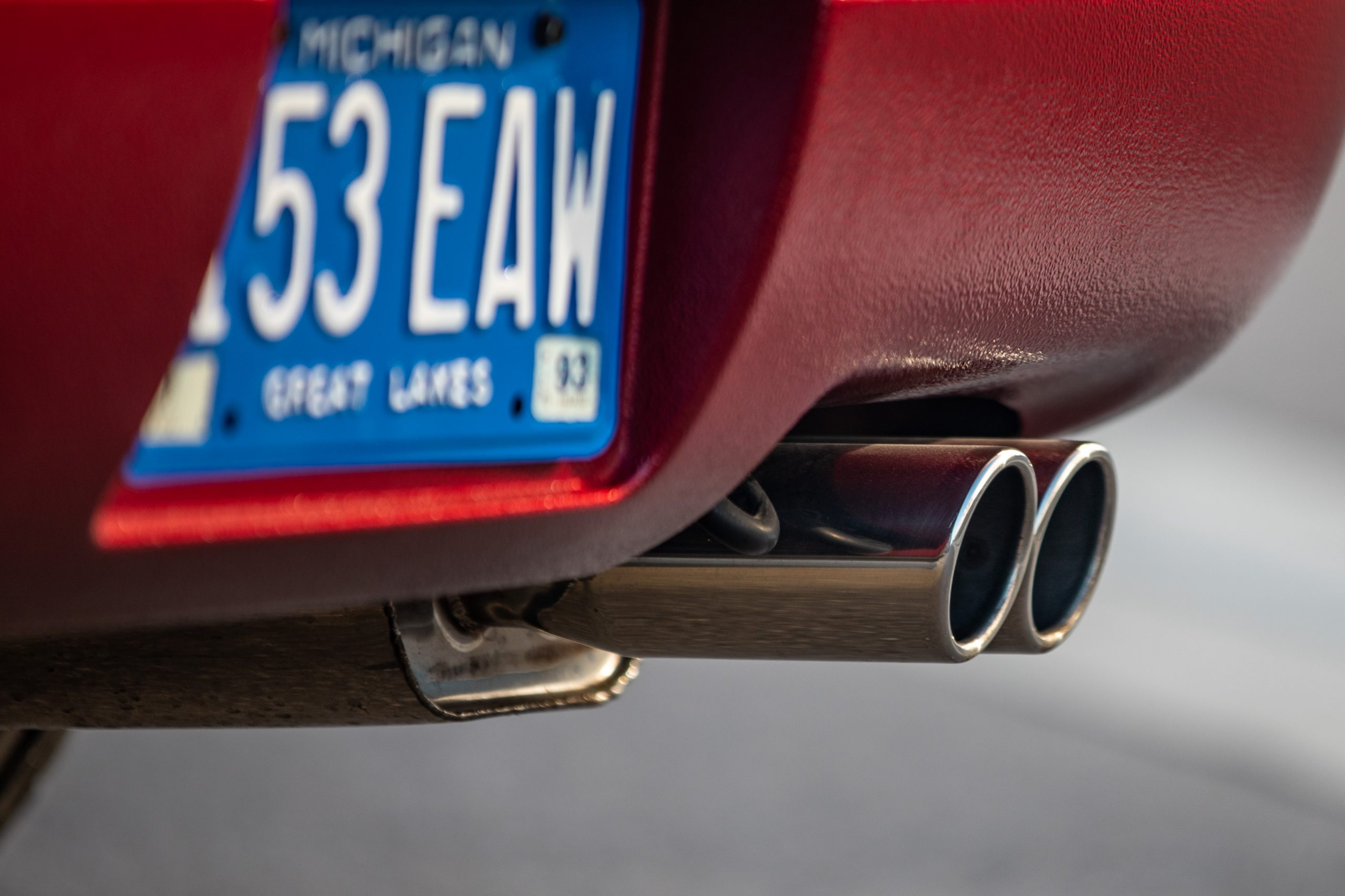 Nissan 300ZX tailpipe exhaust