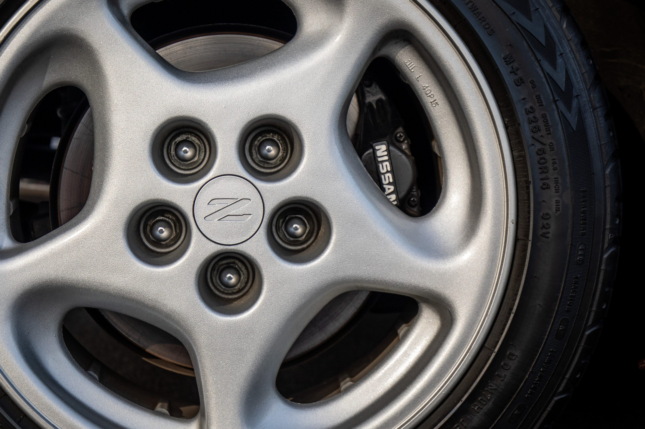 Nissan 300ZX wheel and tire