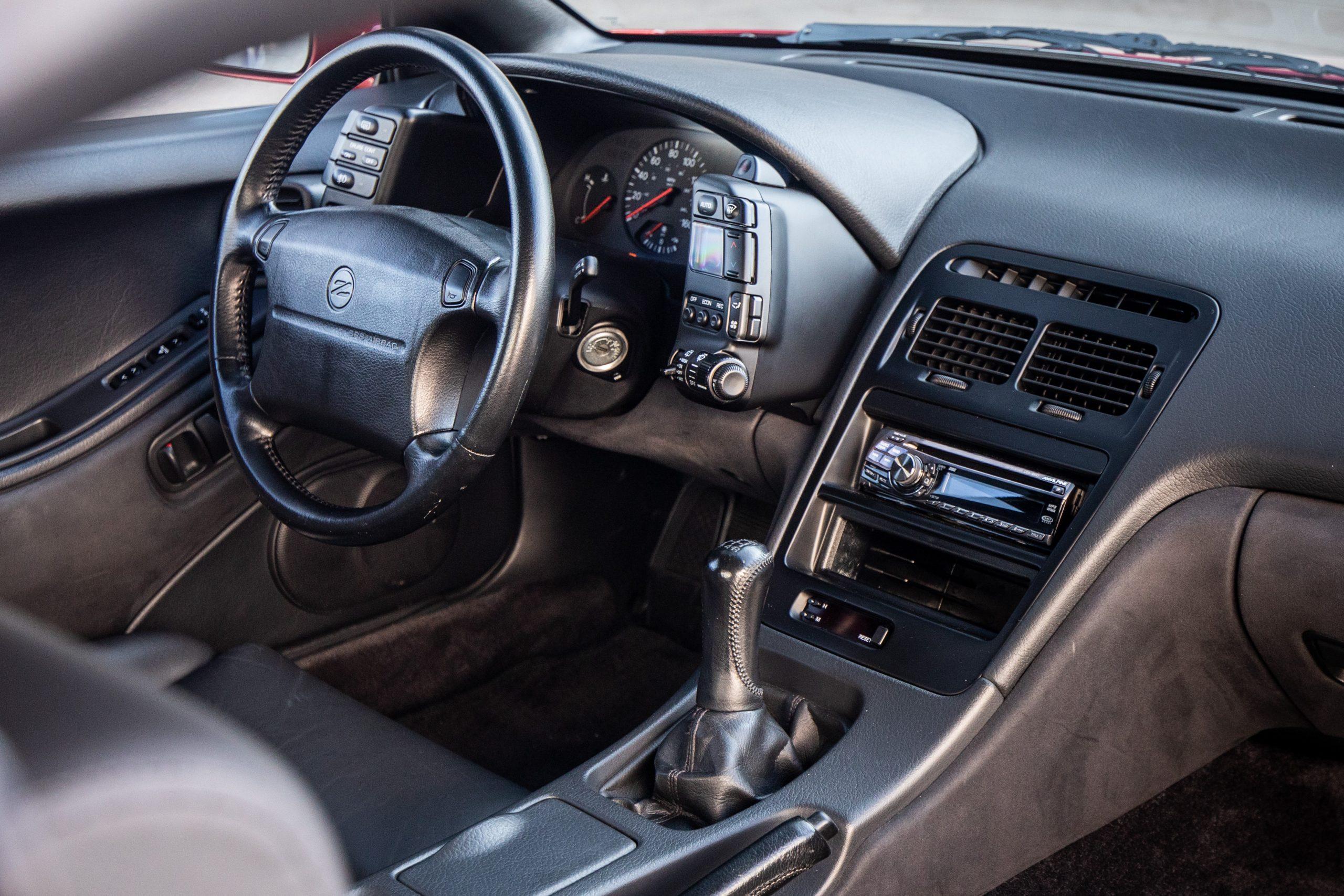 Nissan 300ZX front interior