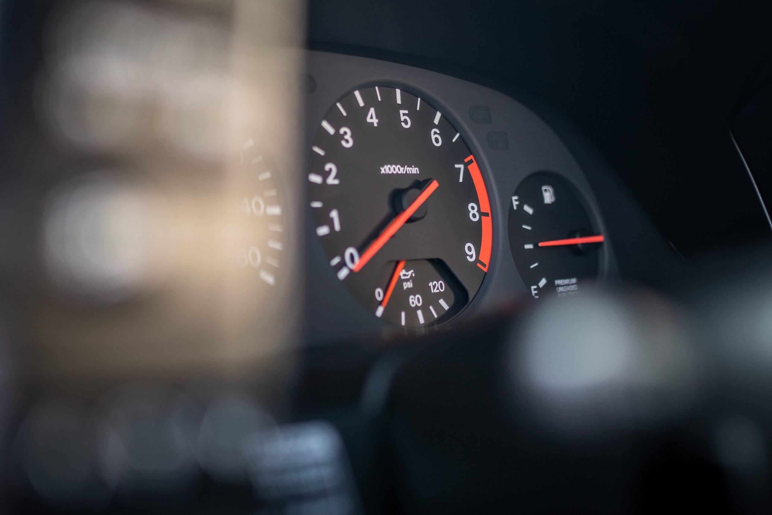 Nissan 300ZX tachometer