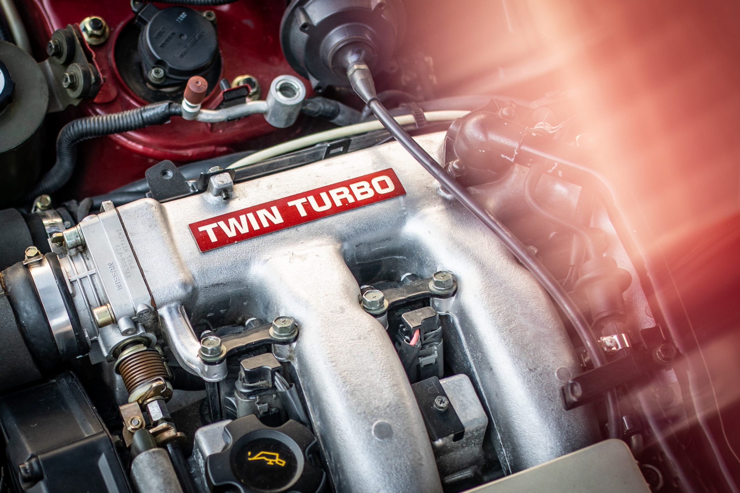 Nissan 300ZX engine twin turbo