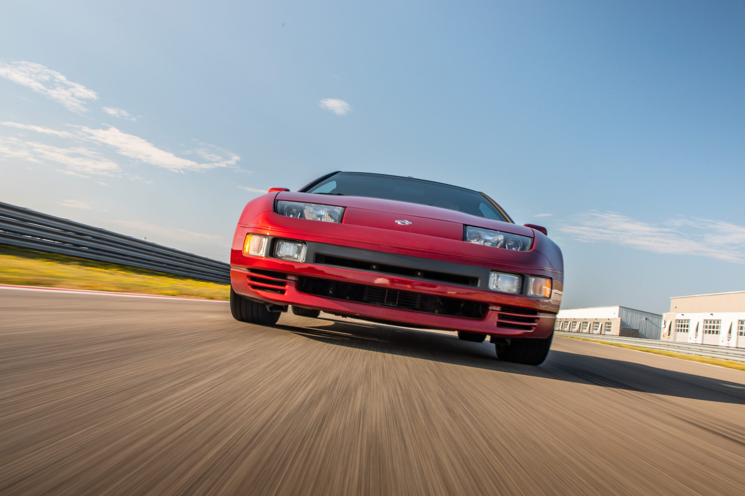 Nissan 300ZX front dynamic action low