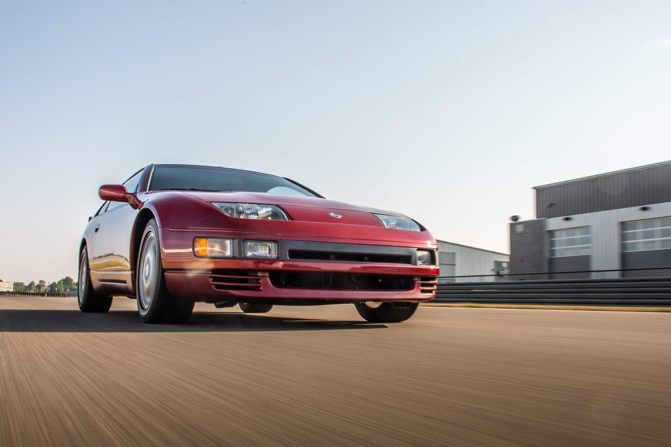 Nissan 300ZX dynamic action low