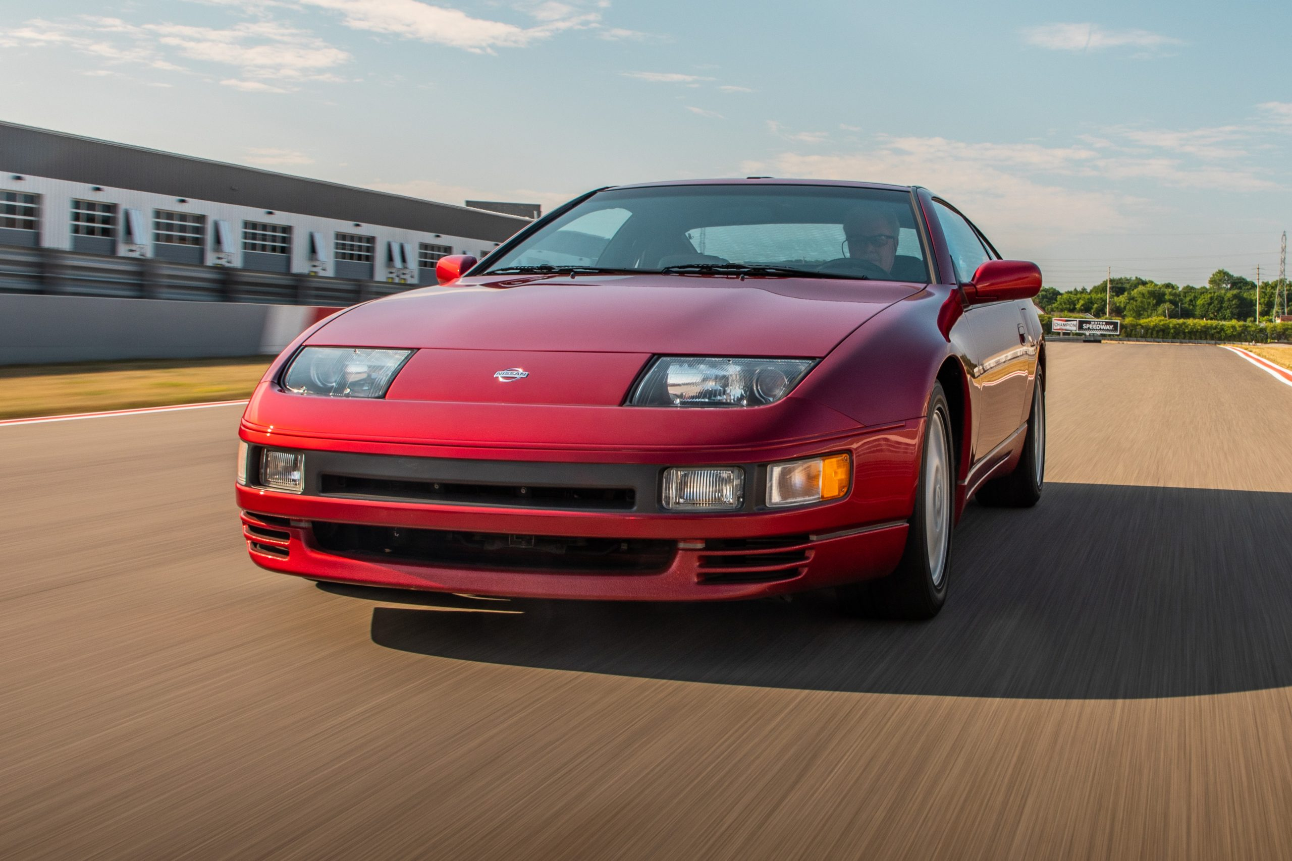 Nissan 300ZX dynamic action