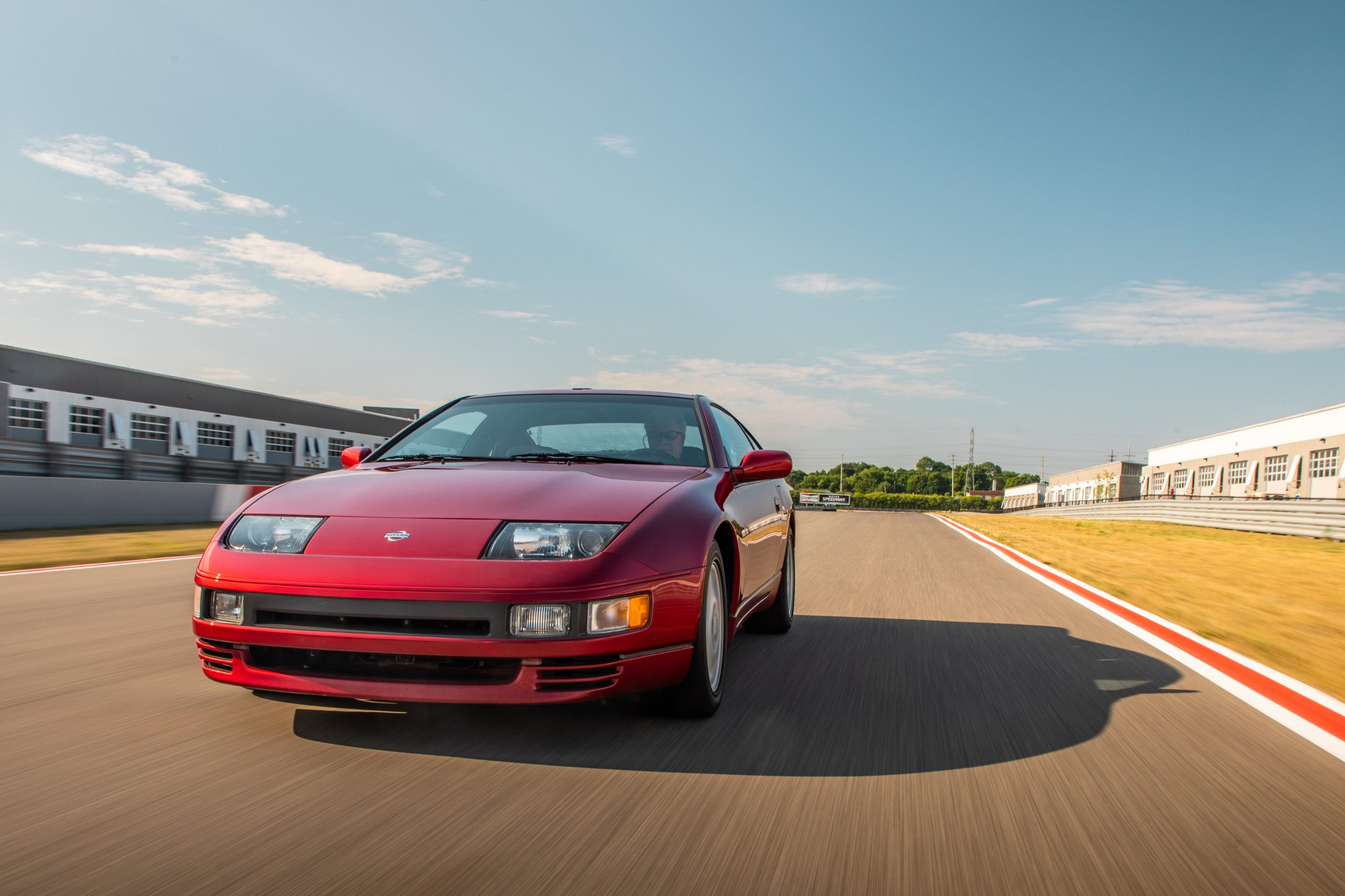 Nissan 300ZX front dynamic action