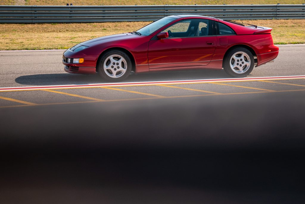 Nissan 300ZX side profile