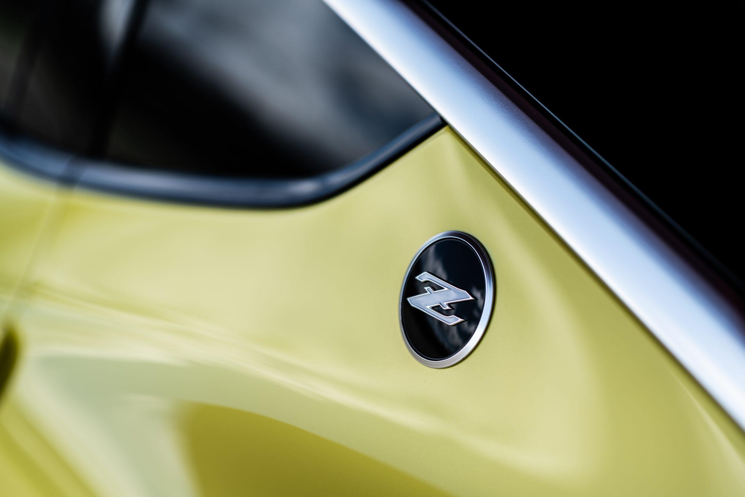 nissan new z car prototype z badge