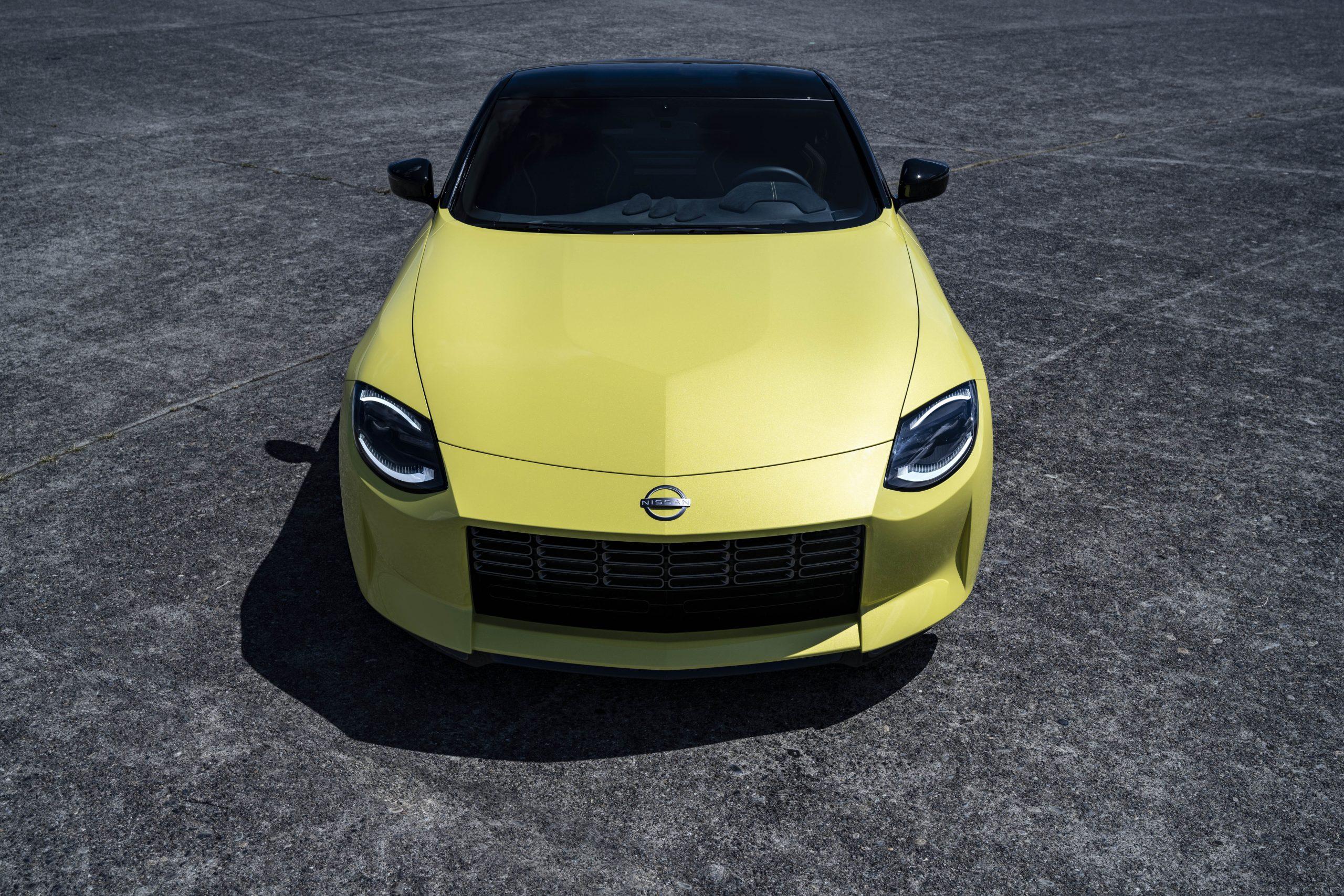 nissan new z car prototype front