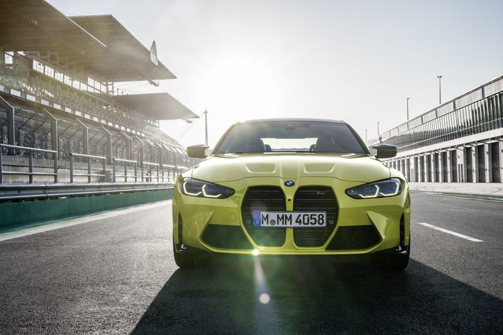 BMW M4 grille