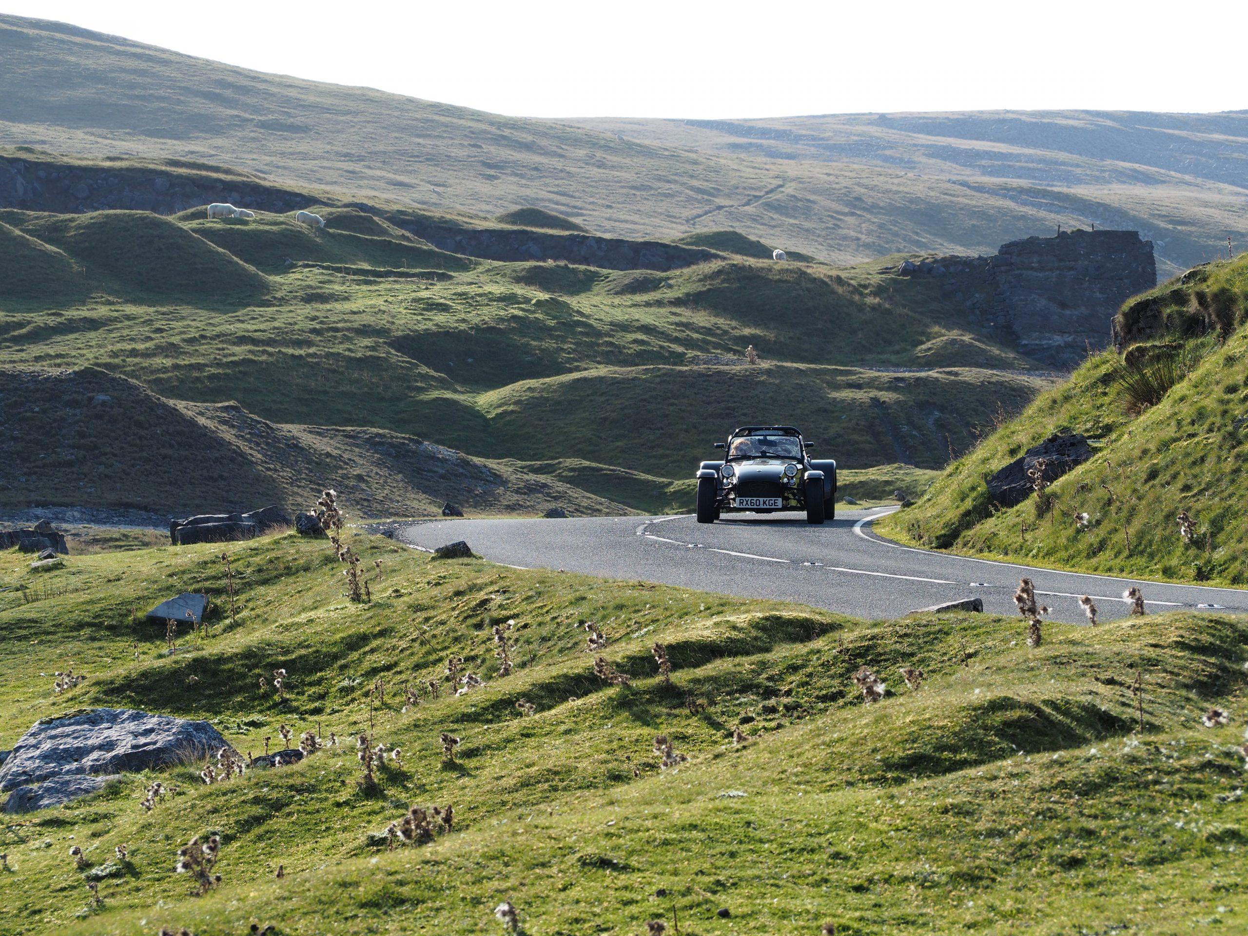 Caterham Black Mountain Pass 1