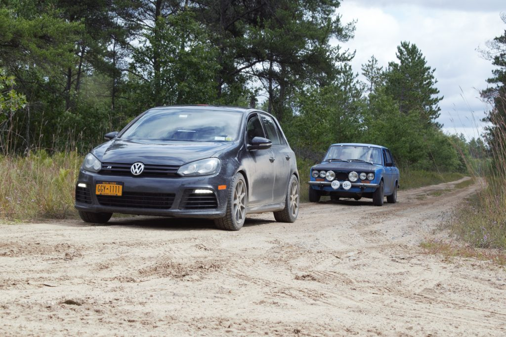 press on regardless vw and bmw dirt road rally