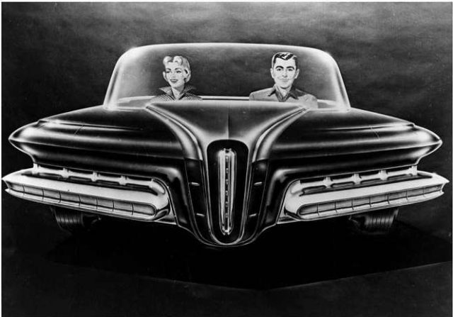 Packard Predictor Front art drawing