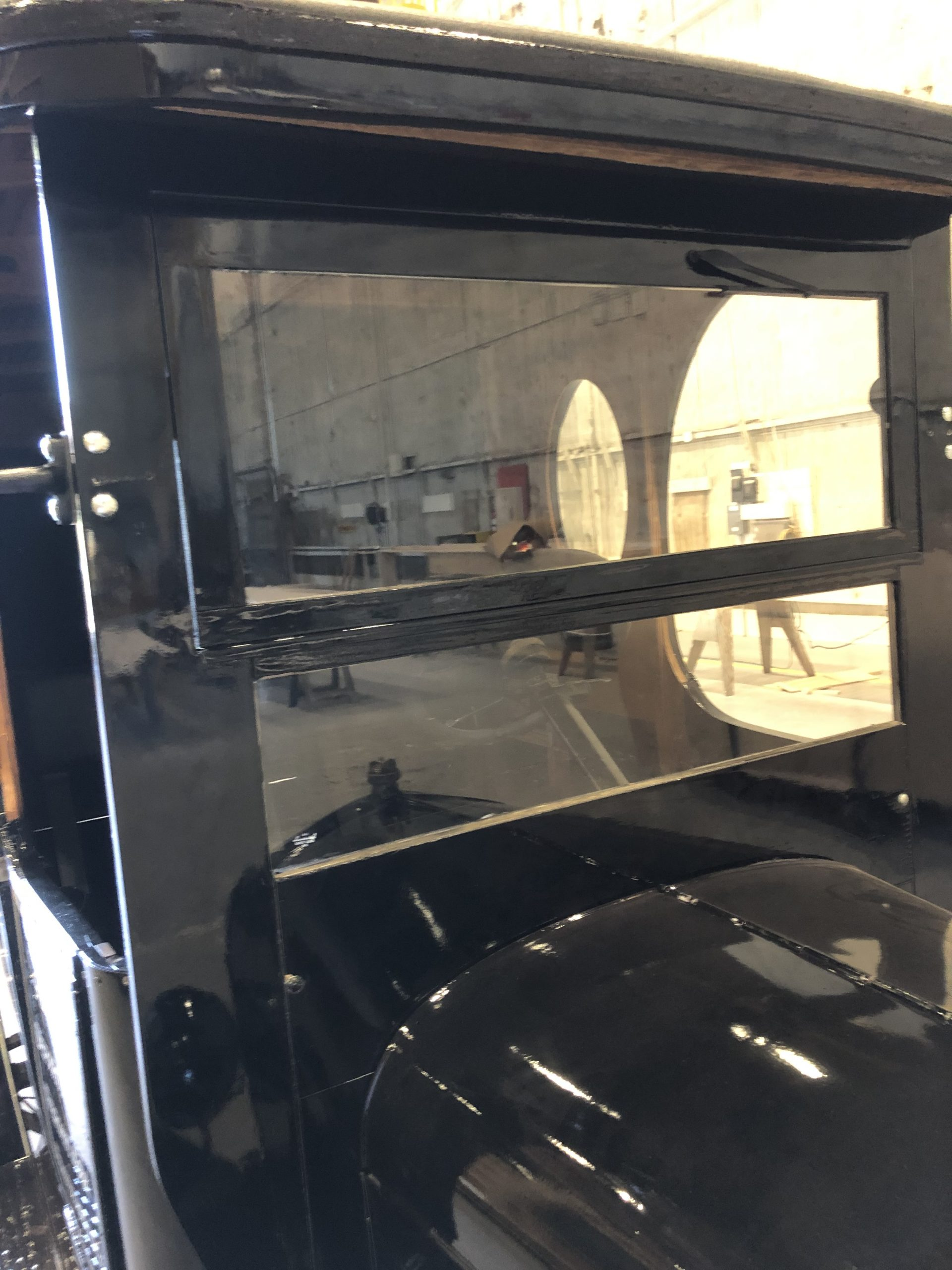 perry mason milktruck ford model t prop car windshield