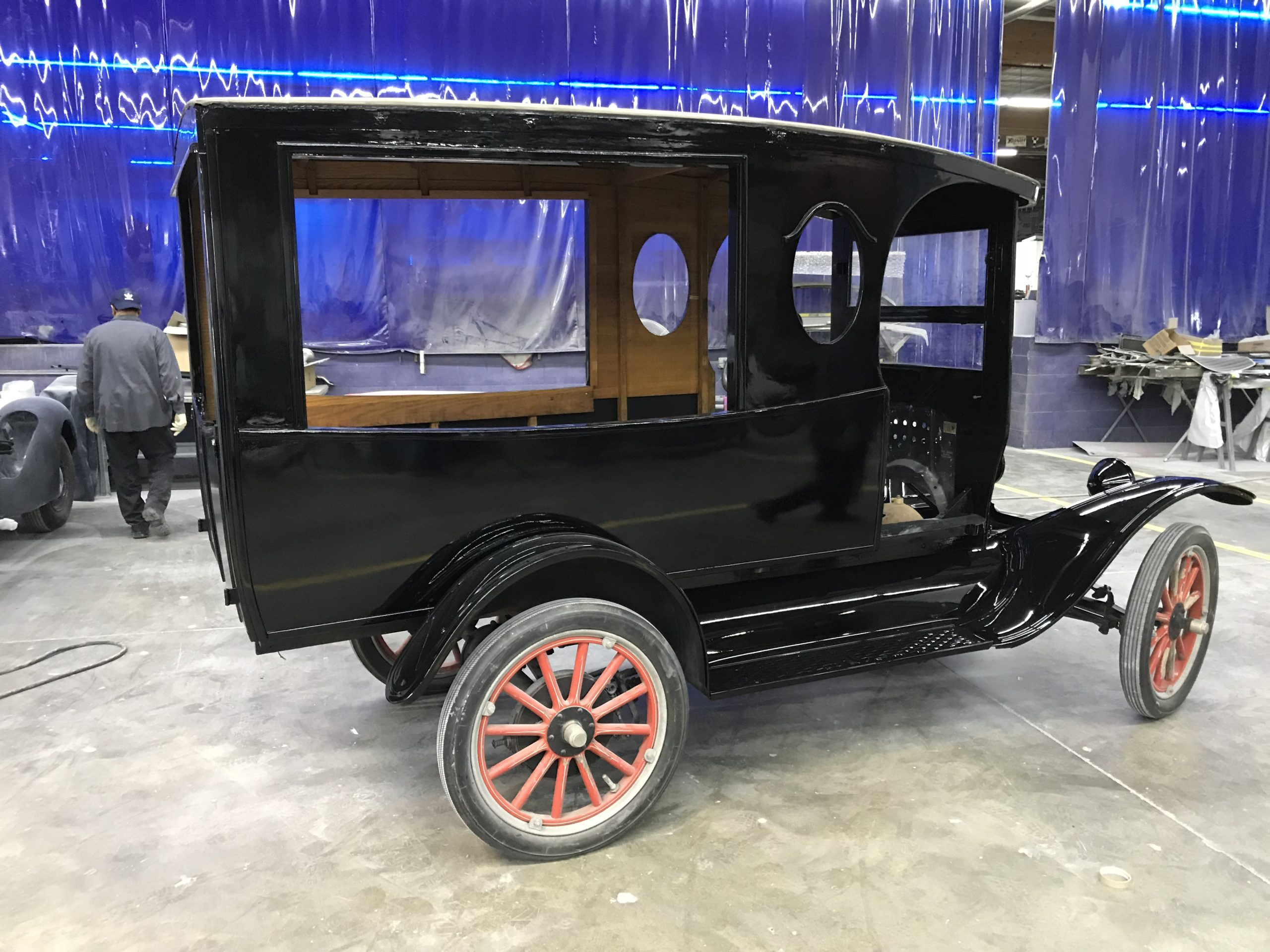 perry mason milktruck ford model t prop car base