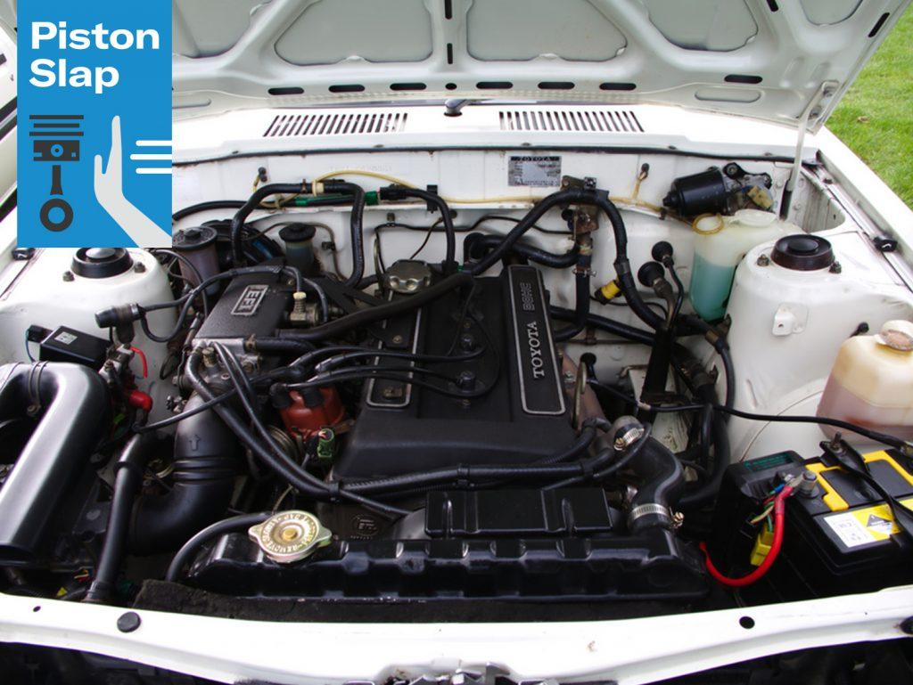 Piston Slap Toyota Inline Engine Bay