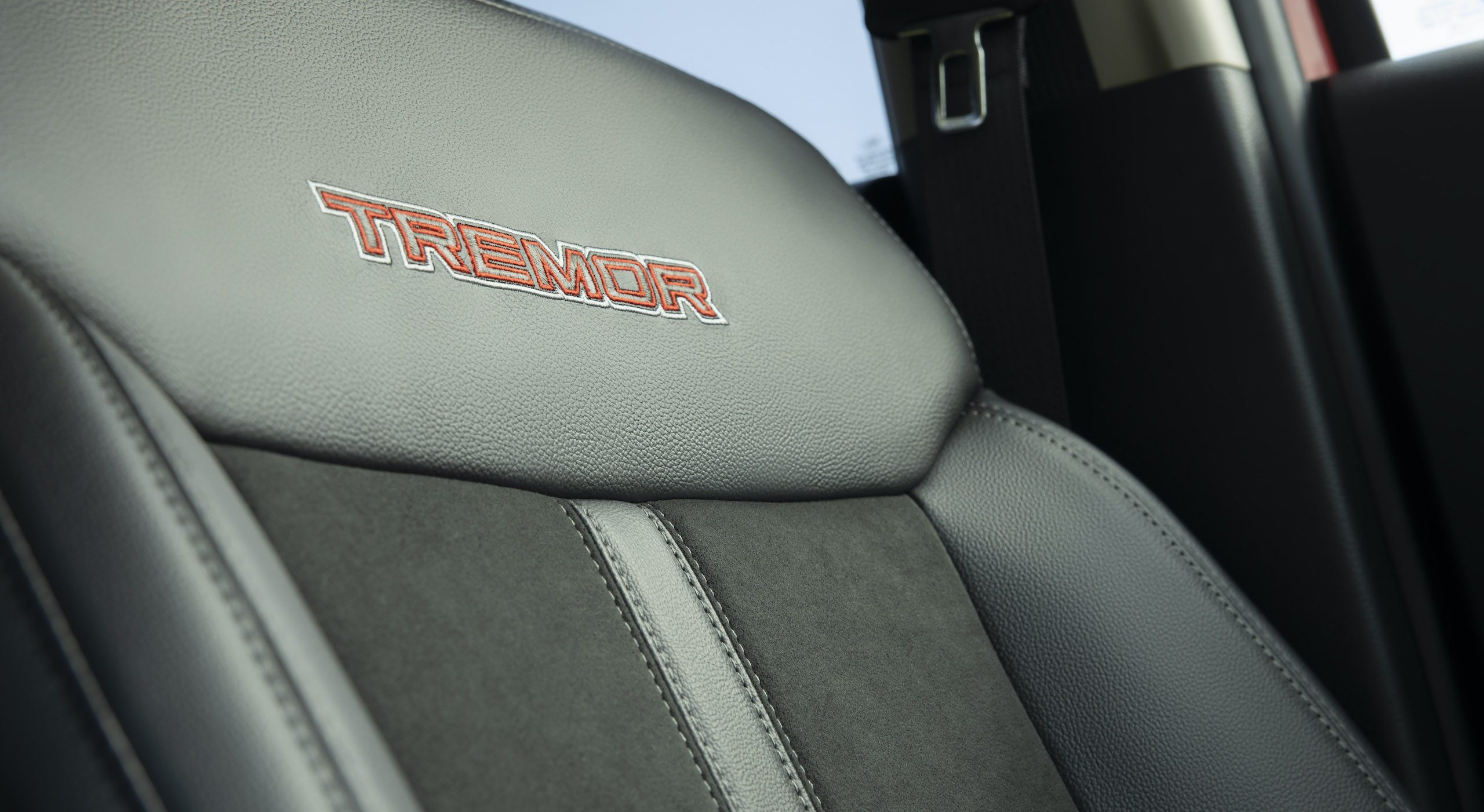 Ranger Tremor Lariat seat embroidery