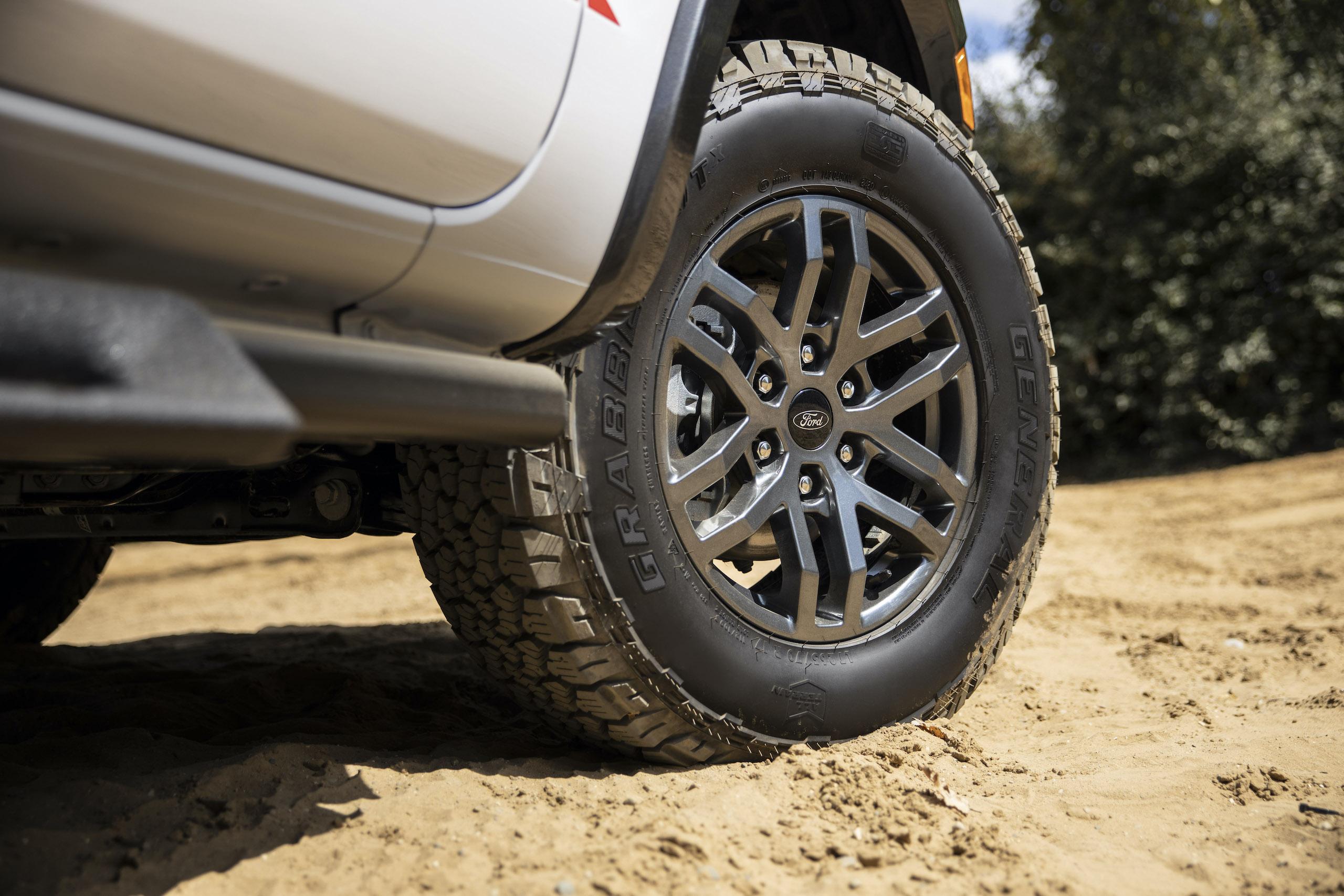 Ranger Tremor XLT front wheel detail