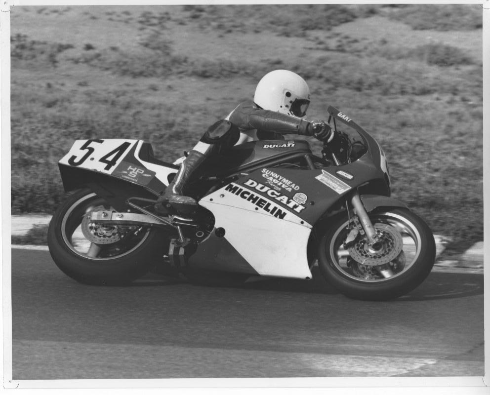 1987 Ducati 750 F1 vintage racing