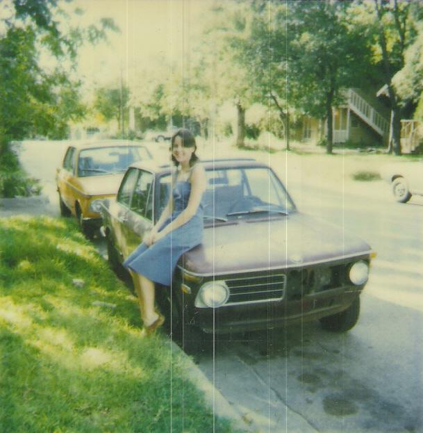 siegel wife and two bmw 2002s parked street side