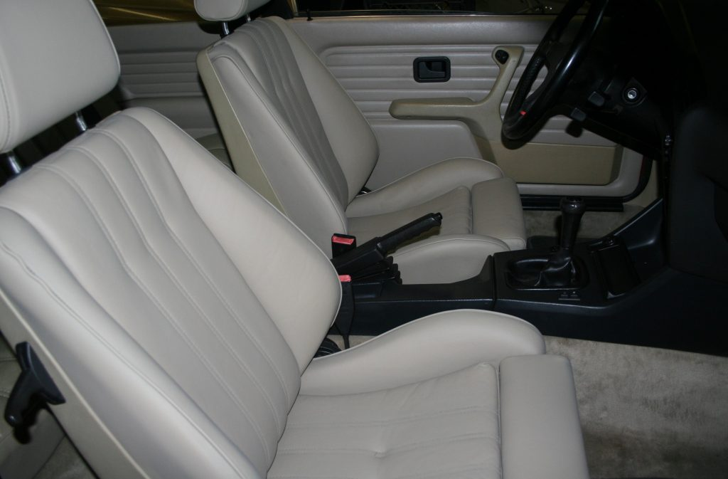 Rob Siegel - The Trade - 1987 BMW 325is interior AFTER
