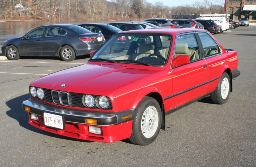 Rob Siegel - The Trade - 1987 BMW 325is full drivers side