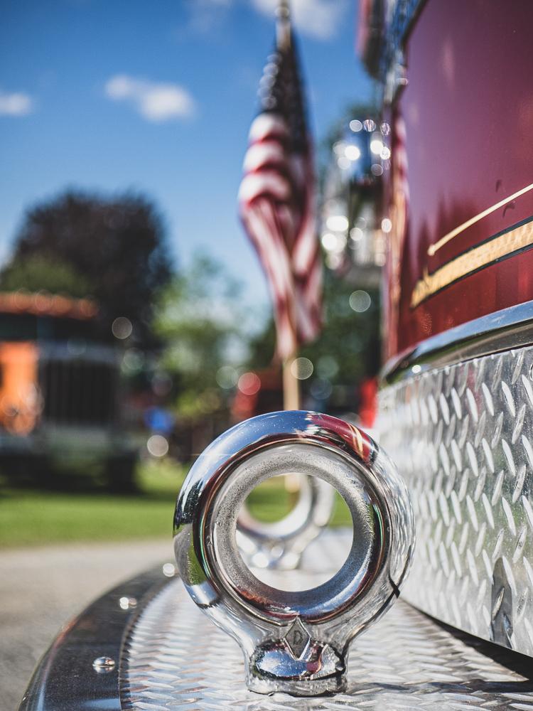 vintage firetruck cleet