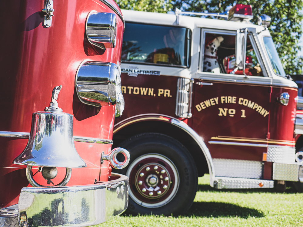 dewey fire company front