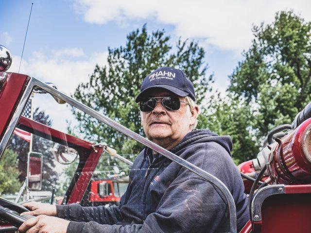vintage firetruck owner