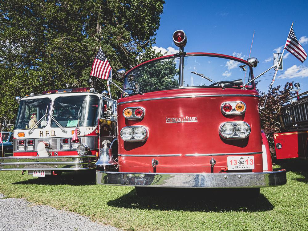 firetruck american lafrance front