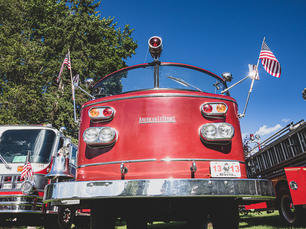 american lafrance firetruck front