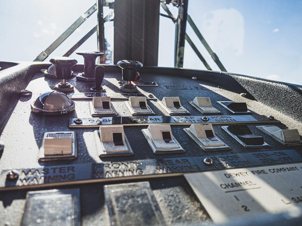 firetruck switch panel