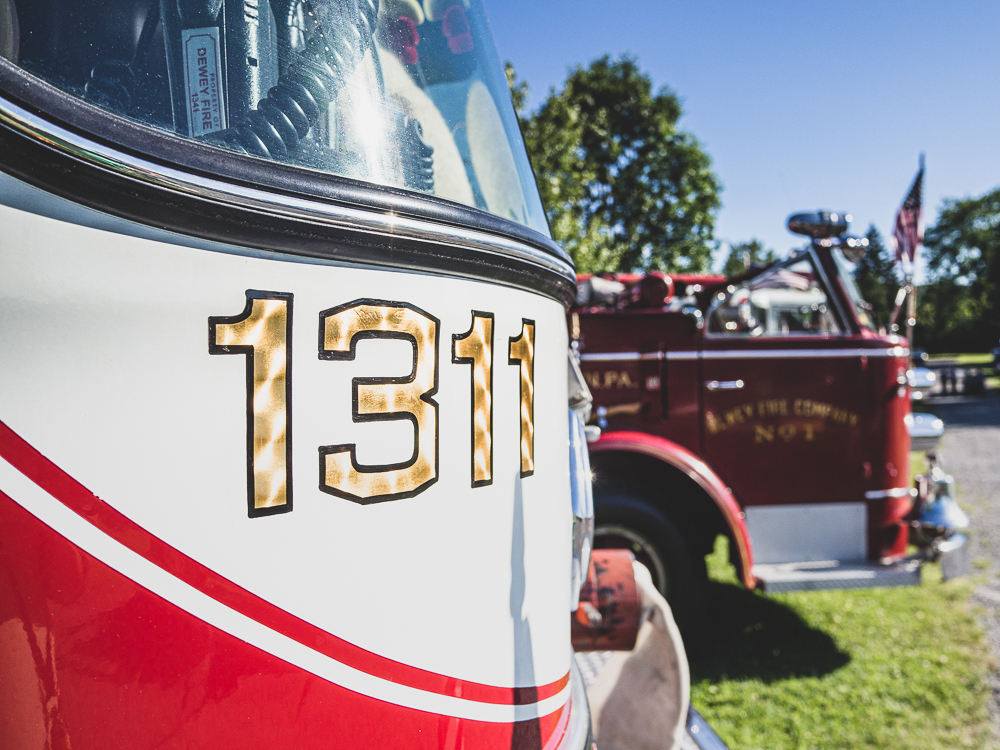 gold 1311 firetruck numbering