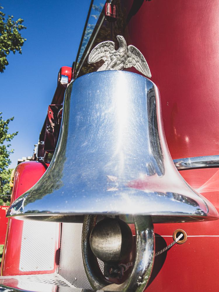 fire truck bell detail