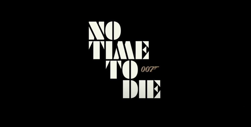 No Time to Die James Bond title