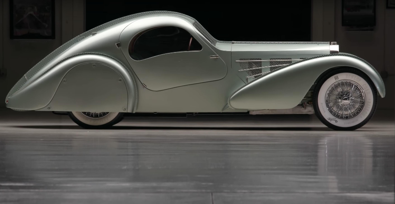 recreated 1934 Bugatti Aerolithe Jay Leno Garage