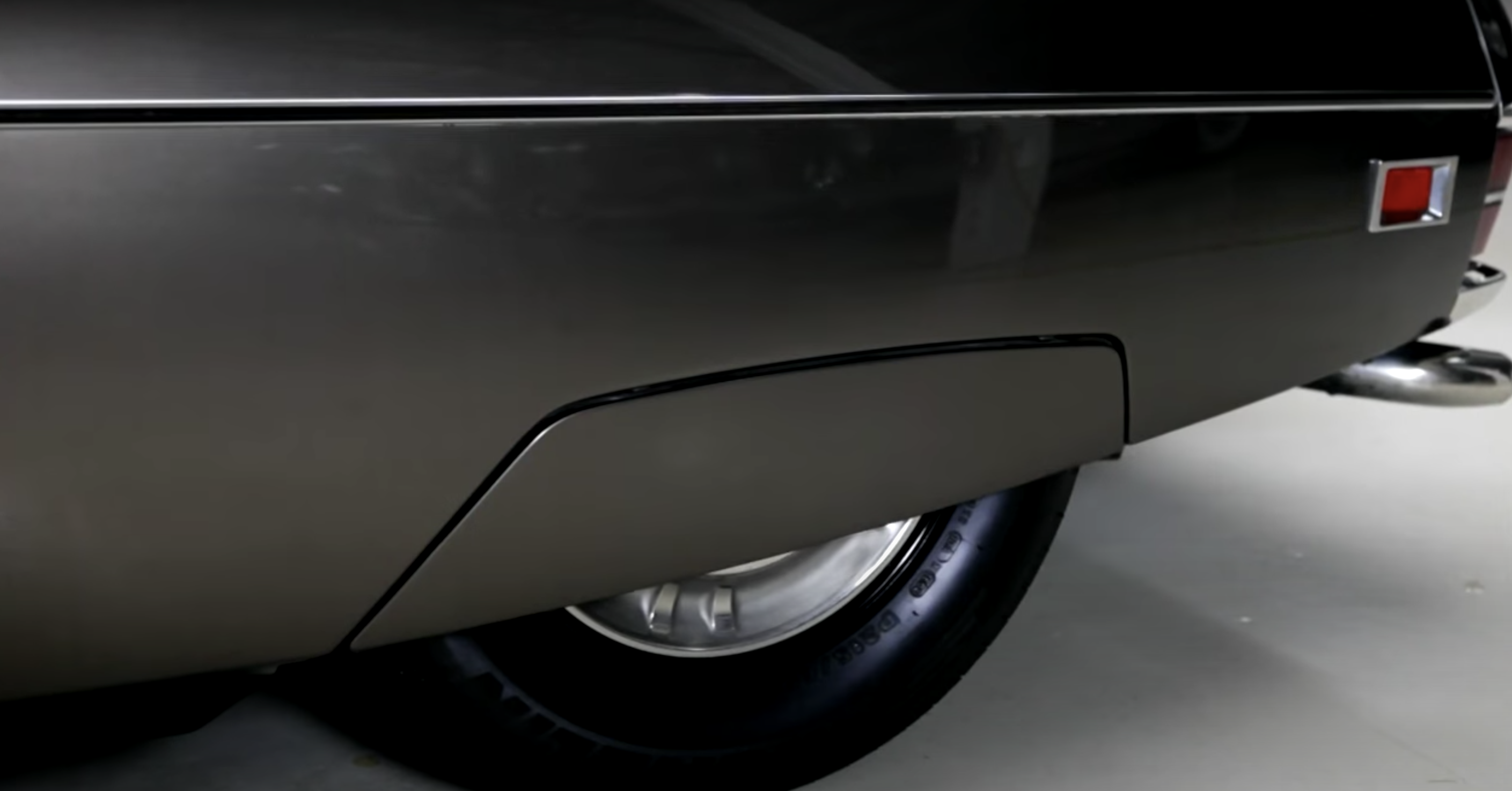 1972 Citroen SM Leno rear wheel low suspension