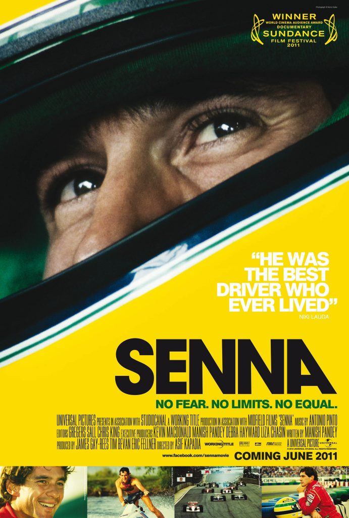 sundance winning senna documentary film poster