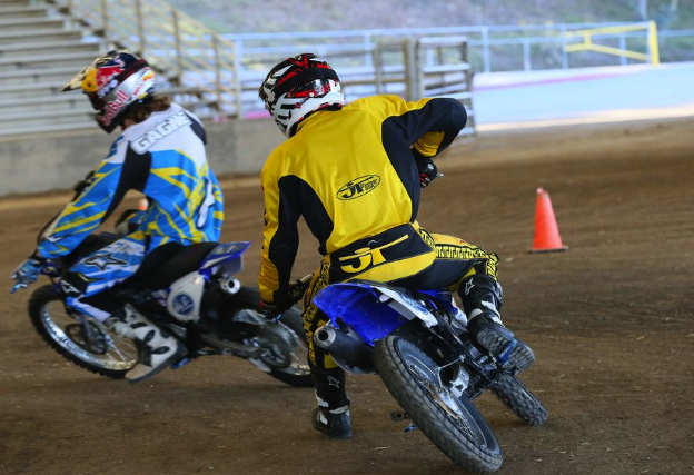 American Supercamp Riding School rear moto action