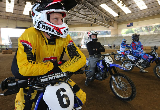 American Supercamp Riding School riders attention