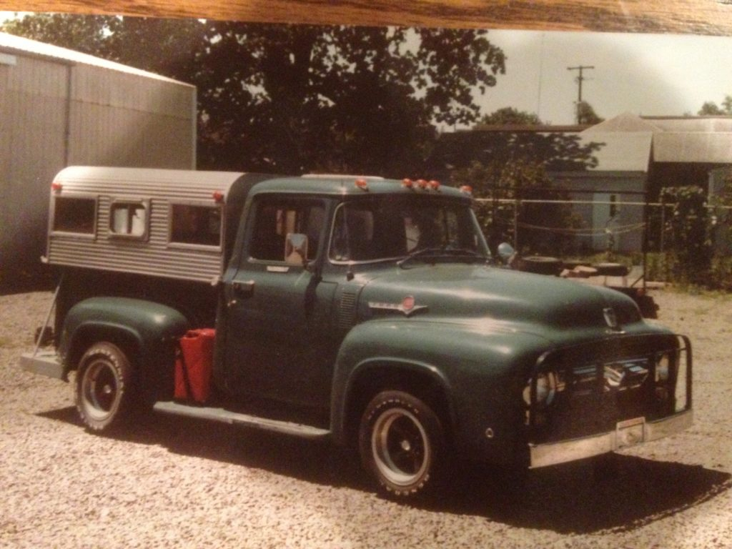 1956 Ford F100 vintage photo