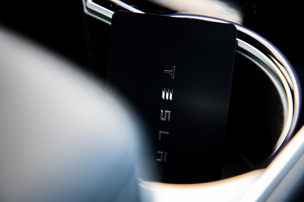 Tesla Model Y key card