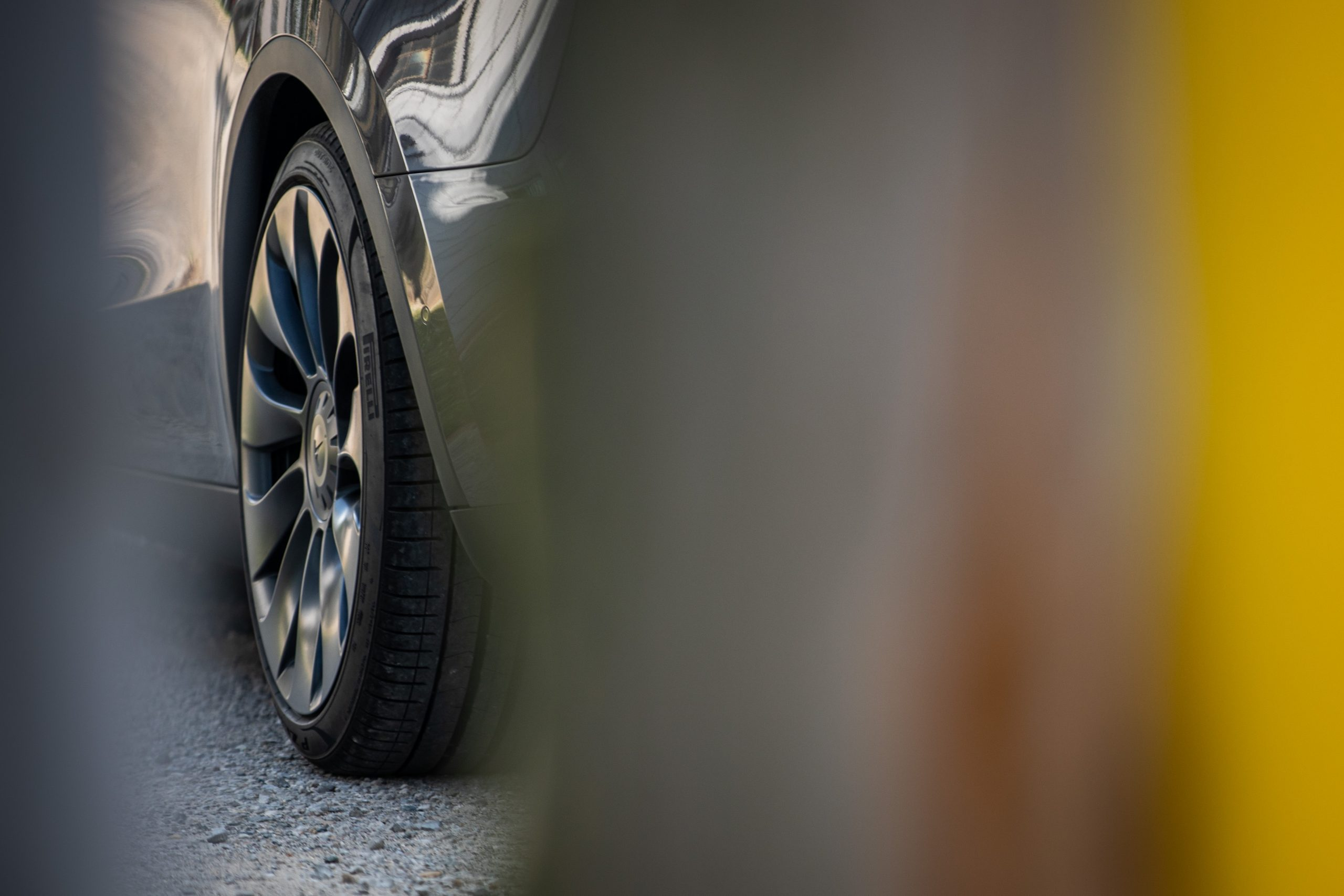 Tesla Model Y wheel