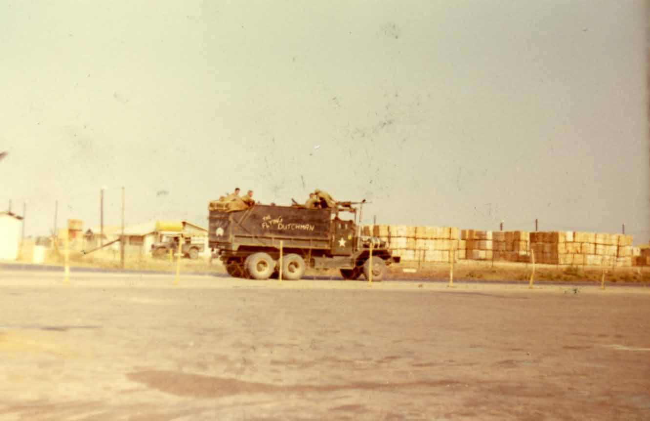 vietnam gun truck flying dutchman