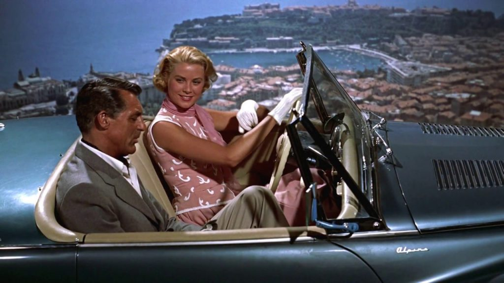 To Catch a Thief - 1953 Sunbeam Alpine with Grace Kelly and Cary Grant - passenger side