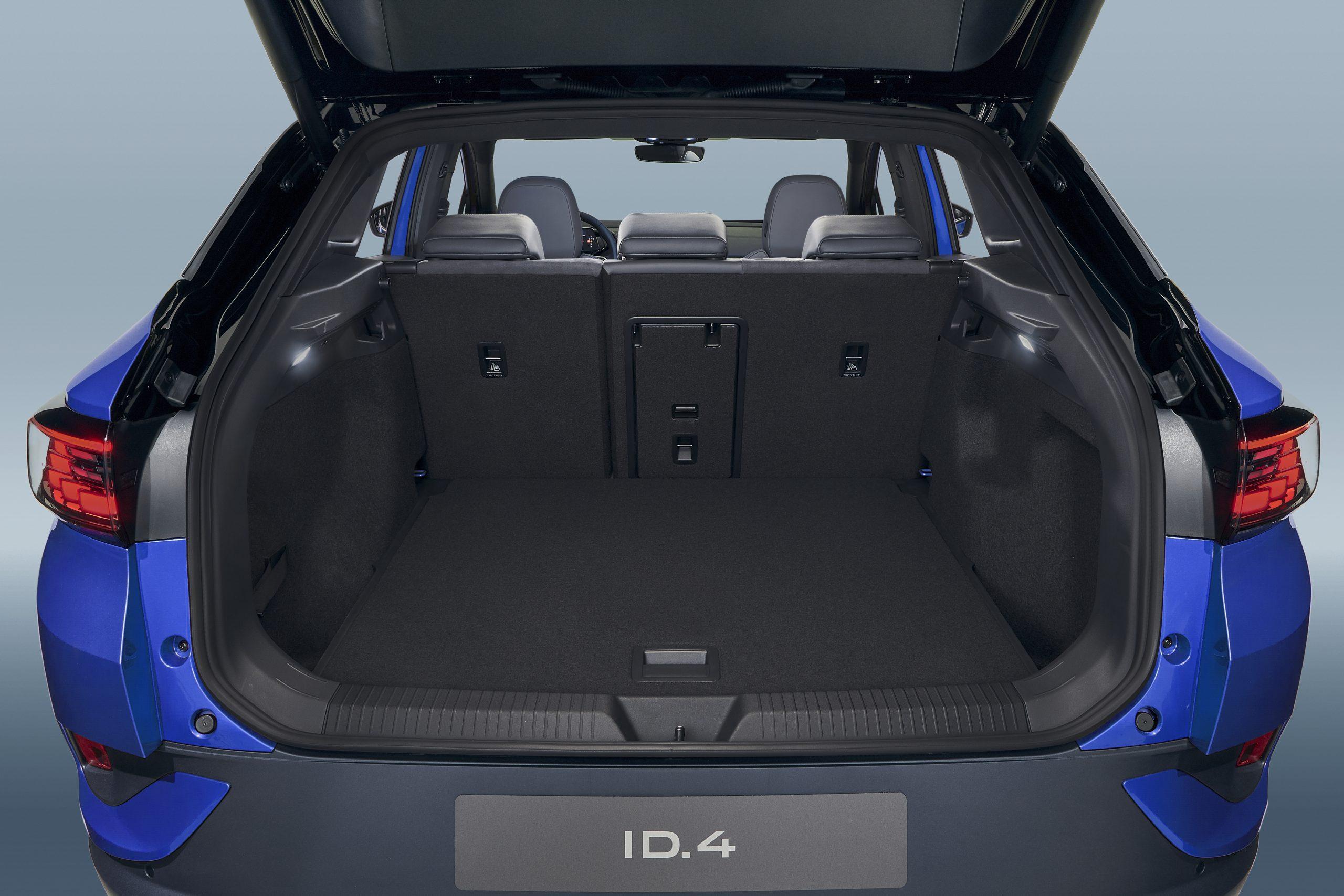 DB2020A2021 VW ID.4 electric SUV rear cargo hatch trunk
