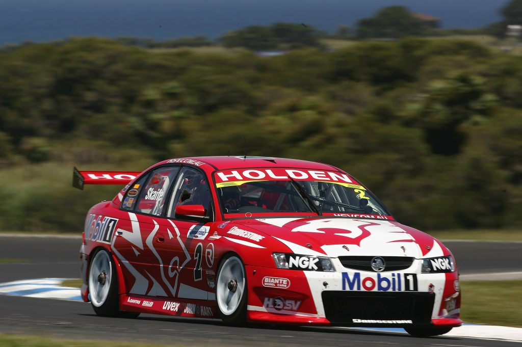 V8 Supercar Series Grand Finale holden car action front three-quarter